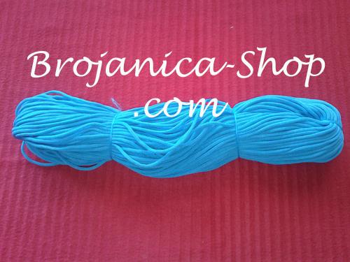 Konac za izradu Brojanica u tirkiz plavoj boji