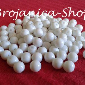 Perle za Brojanice biserne bele 8mm