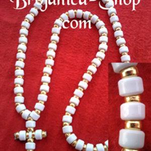 O150 Ogrlica od belih perli