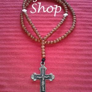 Ogrlica od drvenih perli