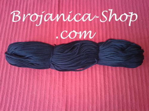Konac za izradu Brojanica u crnoj boji