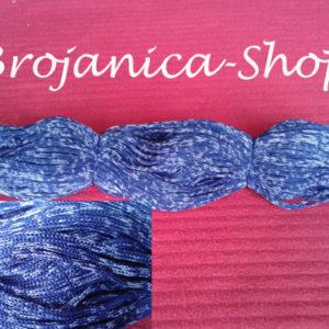 Konac za izradu Brojanica plavo – beli mix