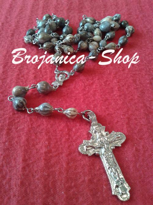 Ogrlica od Bogorodičinih Suza sa prohromkom žicom