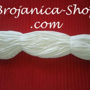 Konac za izradu Brojanica u beloj boji