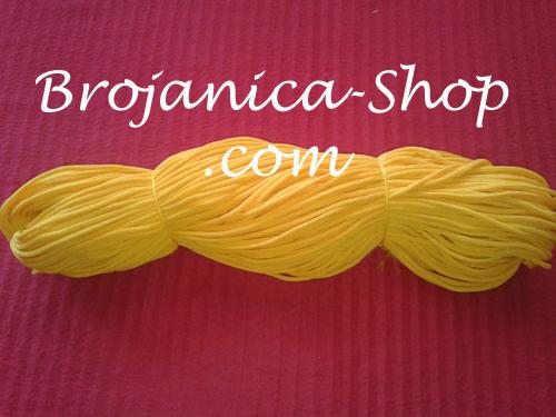 Konac za izradu Brojanica u žutoj boji