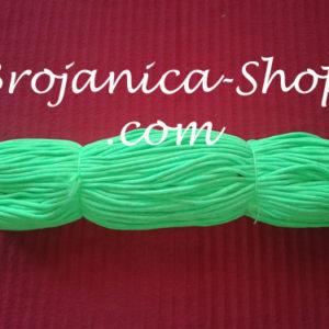 Konac za izradu Brojanica u zelenoj fluoroscentnoj boji