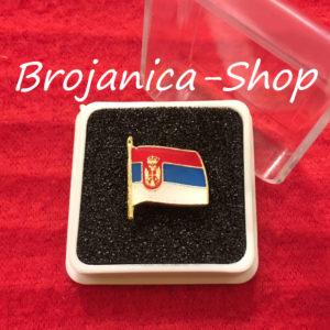 Z640 Značka za odelo zastava Srbije