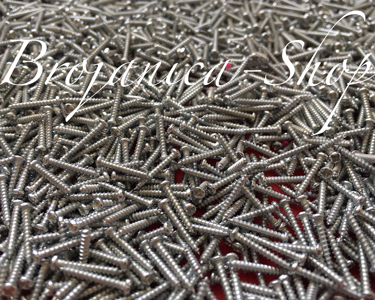 M642 Metalni šrafić 2 x 12 mm