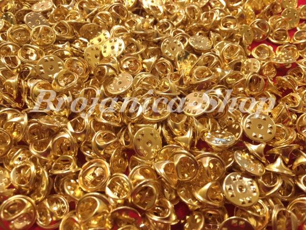 M658 Leptirić za značke u zlatnoj boji