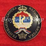 Značka grb Republike Srpske 40mm
