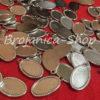 M698 Metalne osnove za izradu medaljona sa jednom alkom 20x10mm