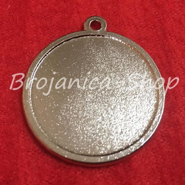 M700 Metalne osnove za izradu privezaka sa stikerom