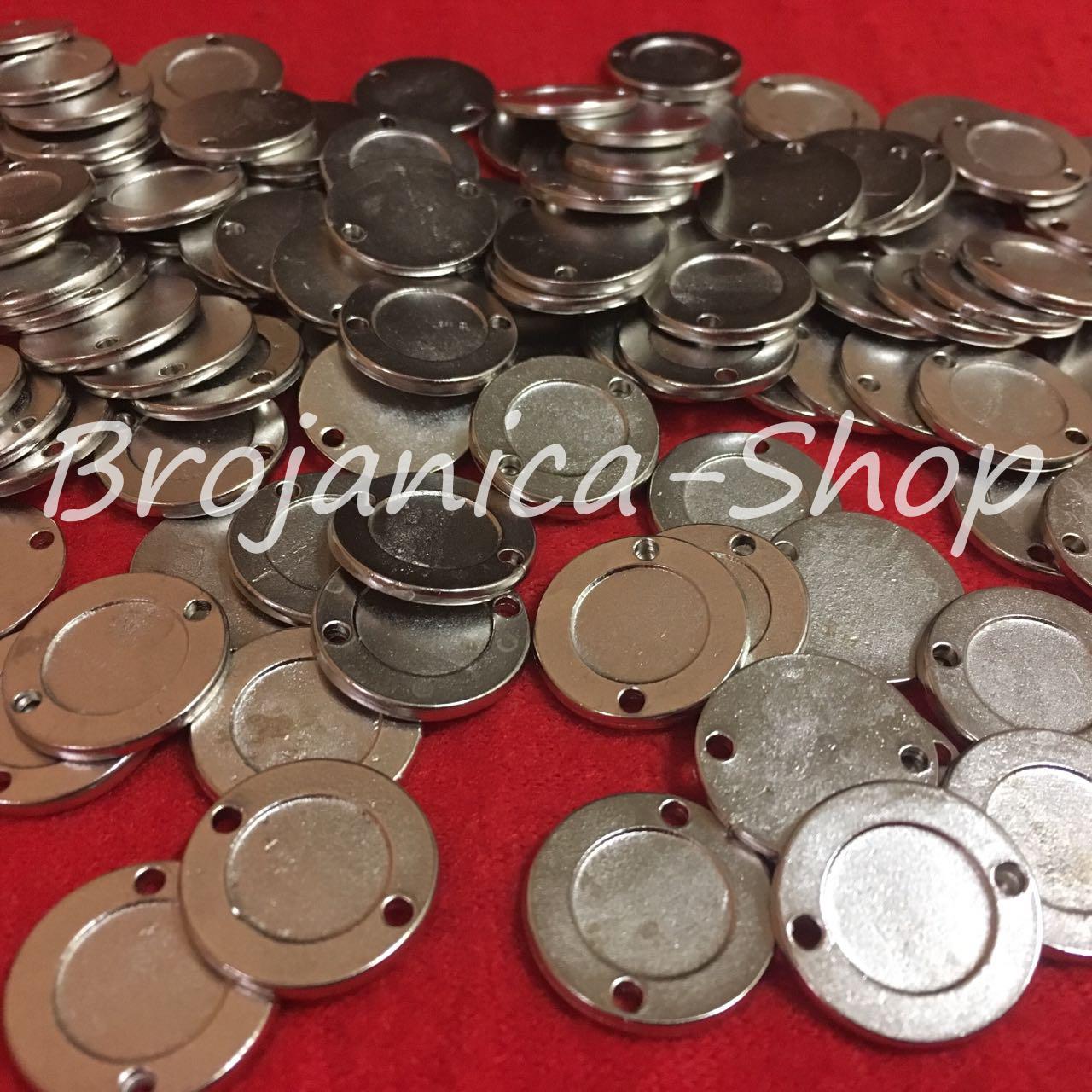 M701 Okrugle metalne osnove za izradu medaljona 18mm
