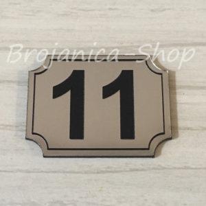 L737 Broj za vrata