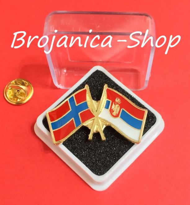 Z751-Značka prijateljstva Srbija-Norveška